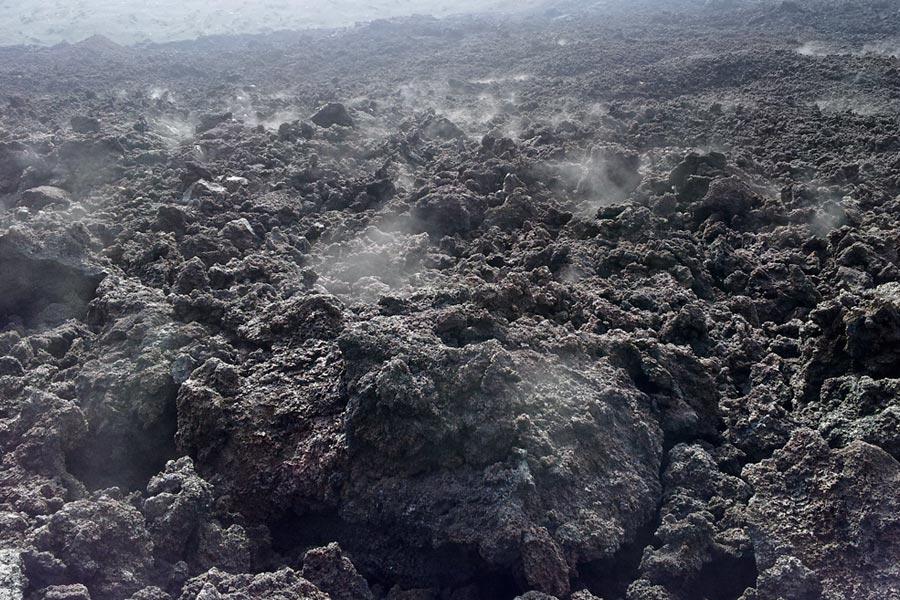 Steaming hot Pacaya Volcano