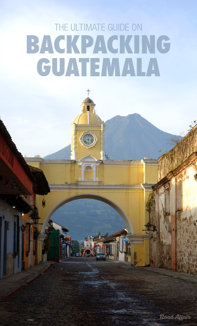 Backpacking Guatemala on a Budget Pin