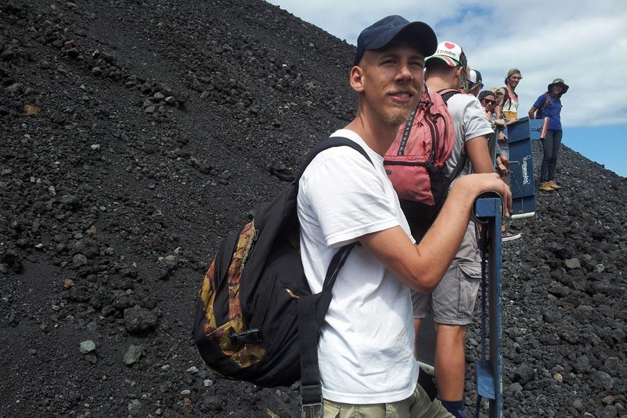 Volcano Cerro Negro in Nicaragua