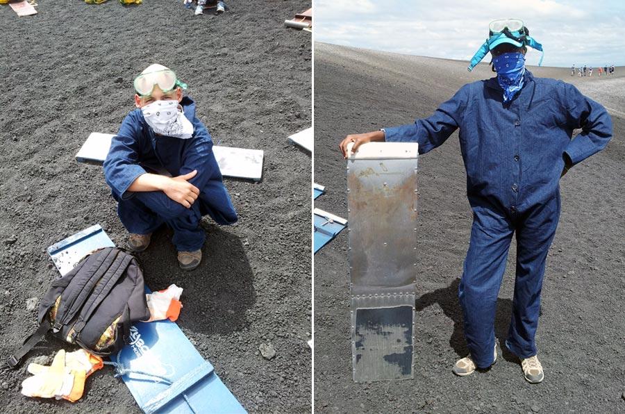 Volcano Boarding Gear for Cerro Negro in Nicaragua