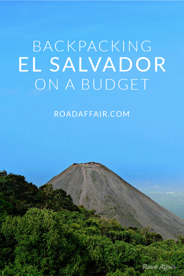 Backpacking El Salvador on a Budget Pin