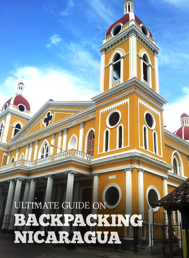Backpacking Nicaragua on a Budget Pin