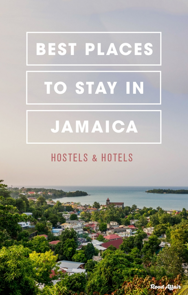 Best cheap places to stay in Jamaica Pinterest Pin