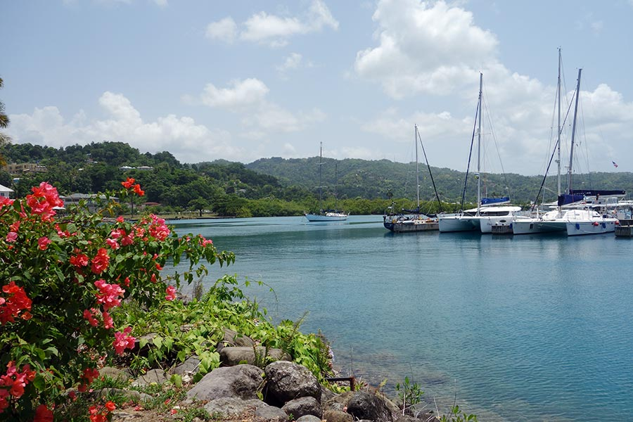 Errol Flynn Marina in Port Antonio Jamaica