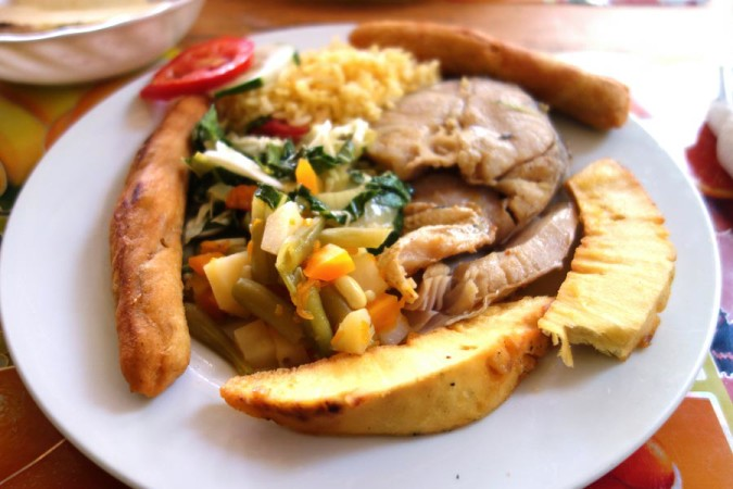 Jamaican Seafood Dish