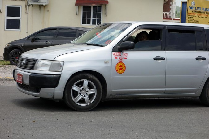 Route Taxi in Jamaica
