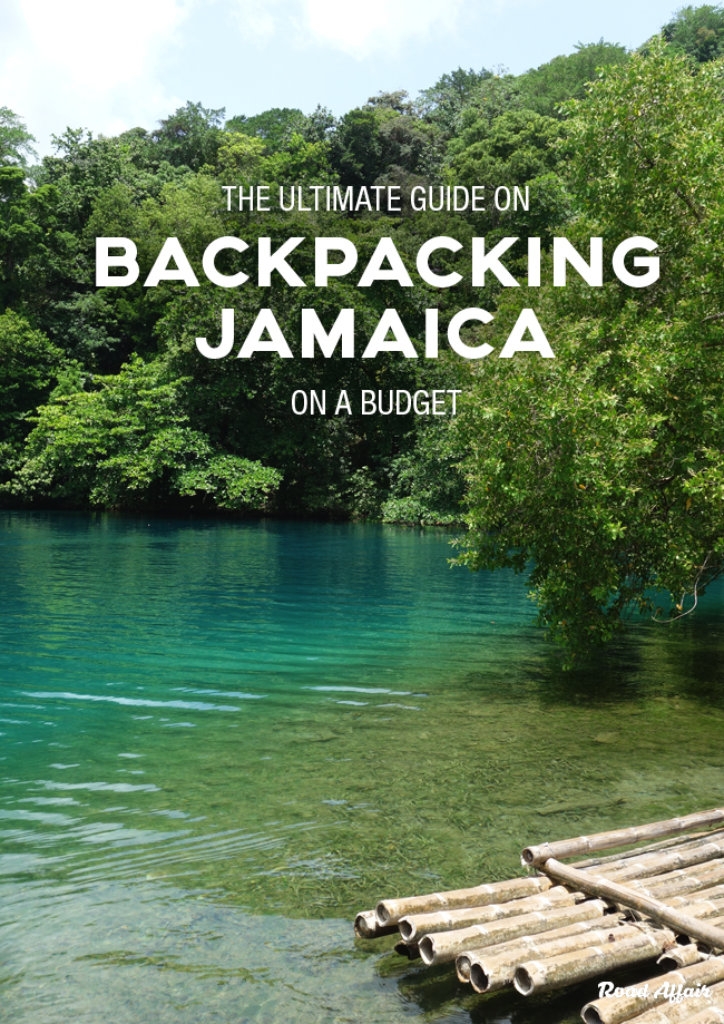 Backpacking Jamaica on a Budget Pin