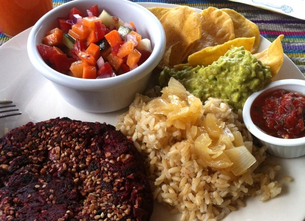 Vegan Meal at Panajachel Center