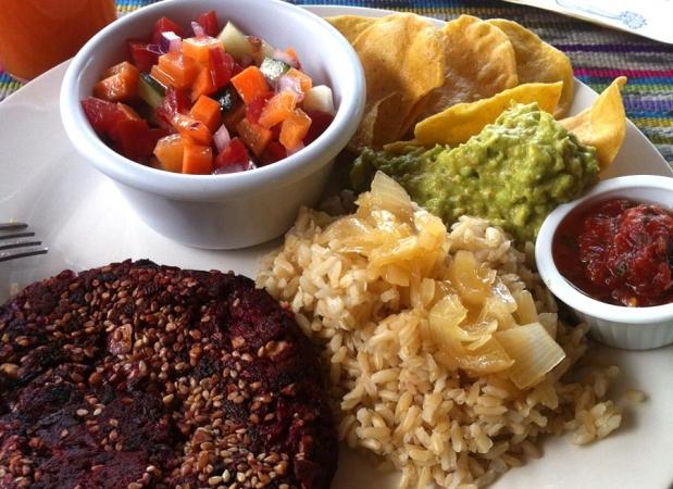 Vegan Meal at Panajachel Center