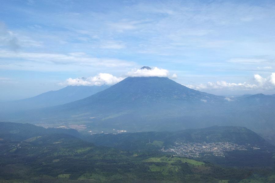 Pacaya Volcano in Guatemala