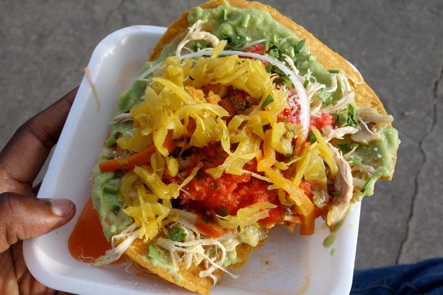 Tostada - Gluten Free Antigua Guatemala