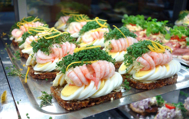 Yummy Smørrebrøds in Copenhagen