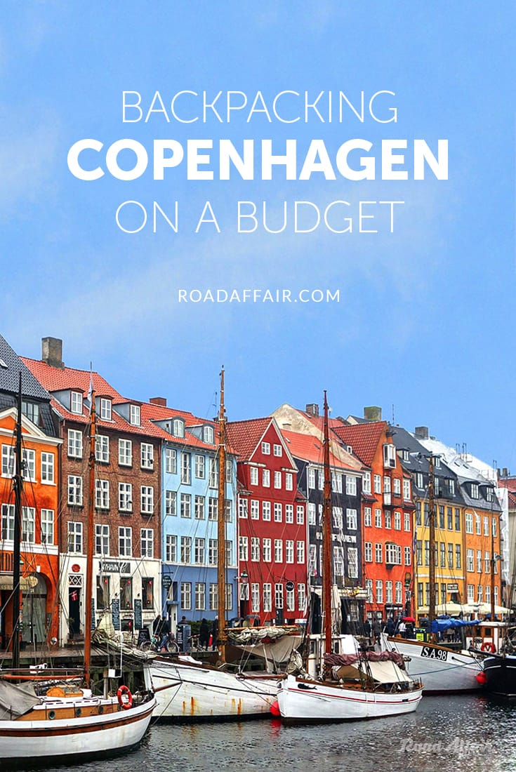 Backpacking Copenhagen on a Budget Pin