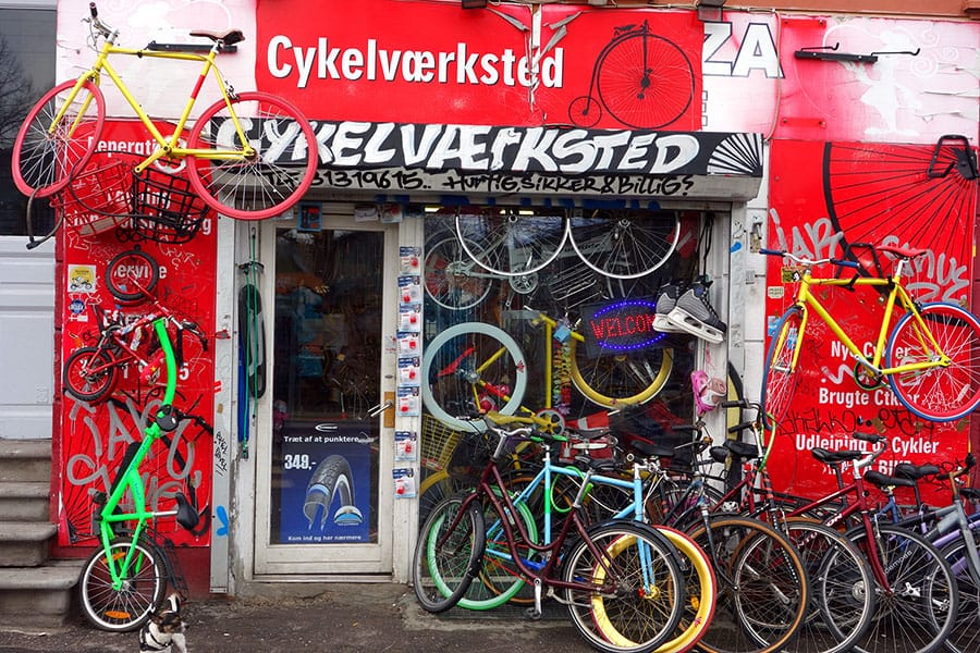 bicycle store in copenhagen