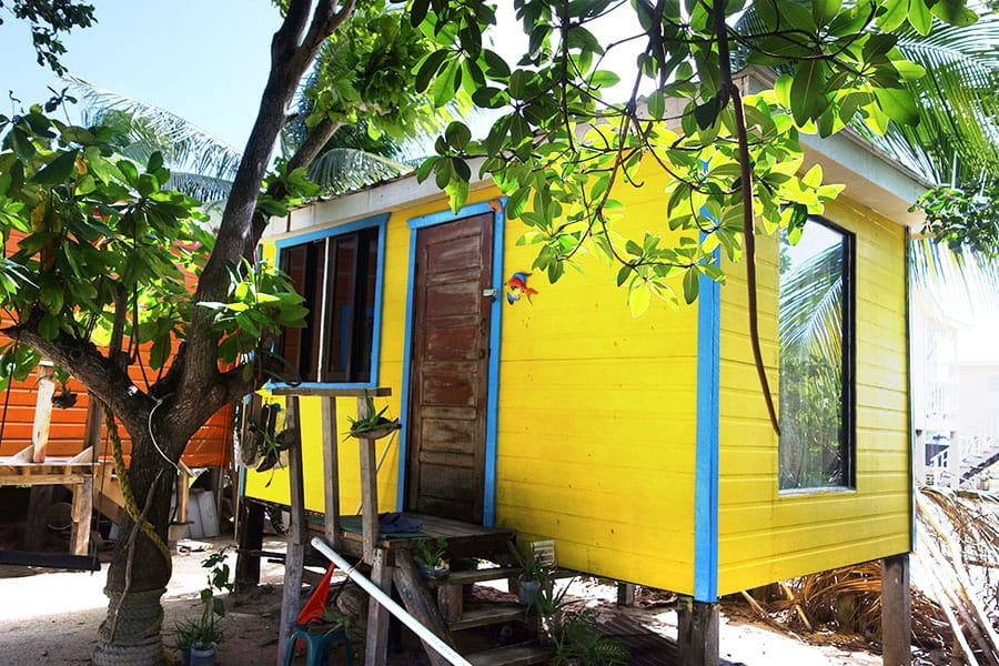 Cabana at Pause Hostel - Budget accommodation on Caye Caulker
