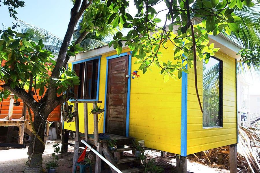 Cabana at Pause Hostel - Budget accommodation on Caye Caulker