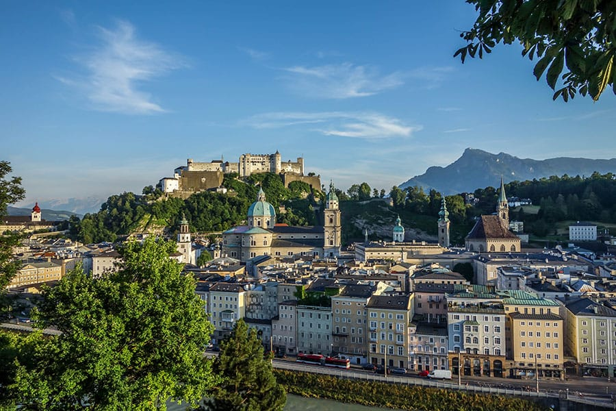 Salzburg City Panorama - Things to do in Salzburg