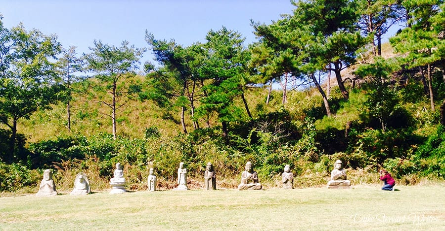 Mrs Stewart Shooting Unjusa Buddhas