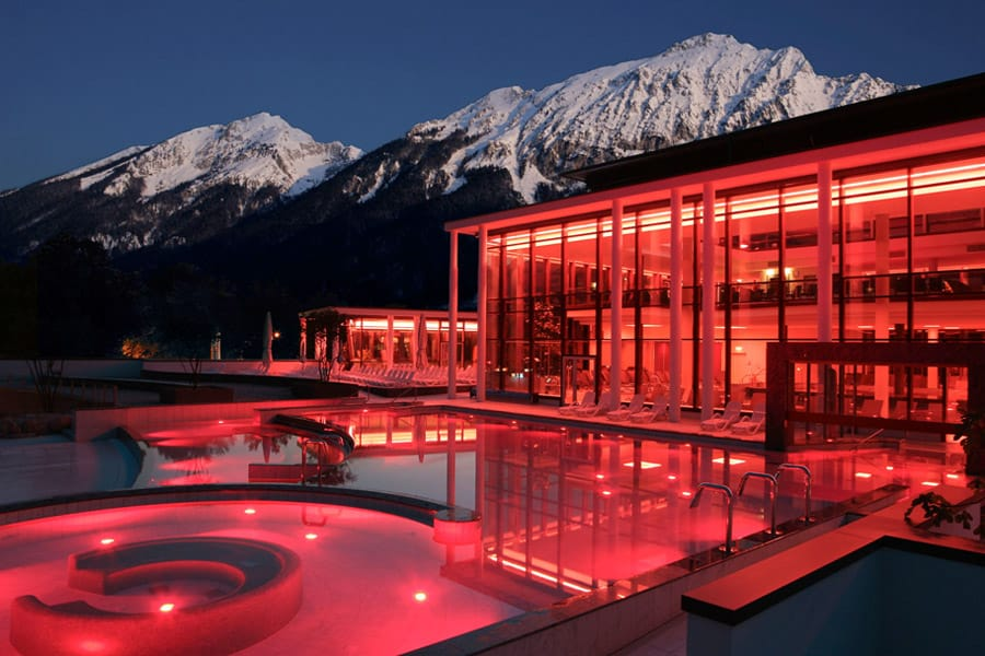 Relax in a thermal bath at RupertusTherme