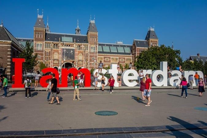 I amsterdam Sign in Amsterdam