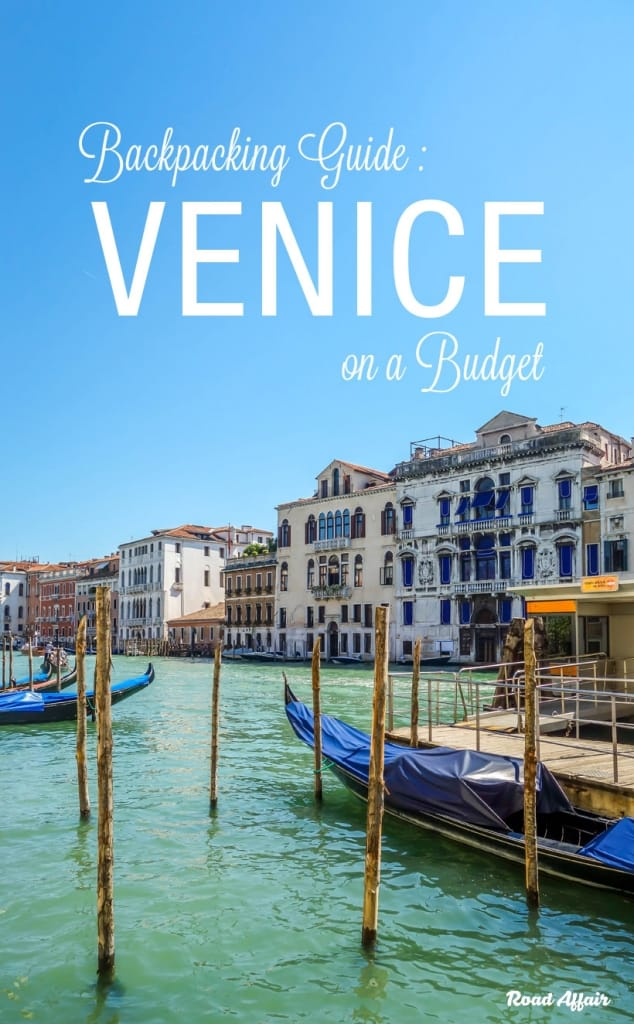 Backpacking Venice on a Budget Pin