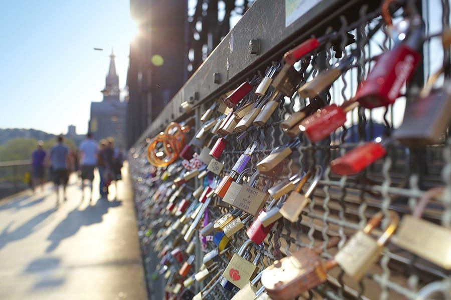 Cologne's Love Lock Bridge