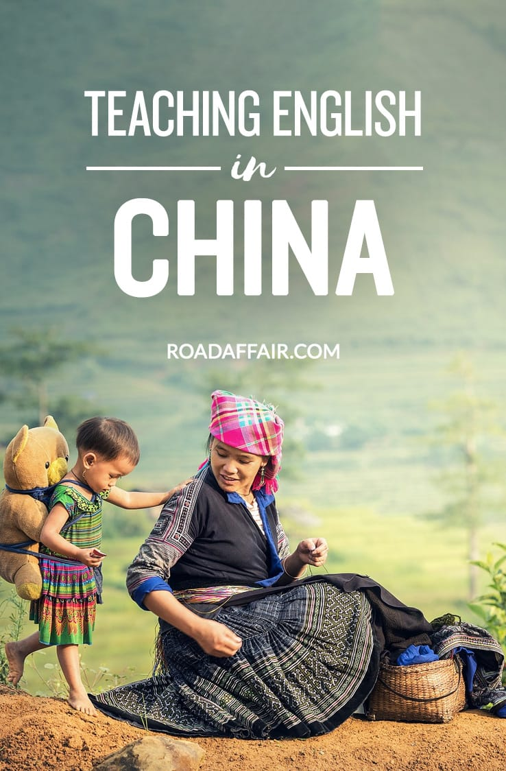 Teaching English in China Pinterest Pin