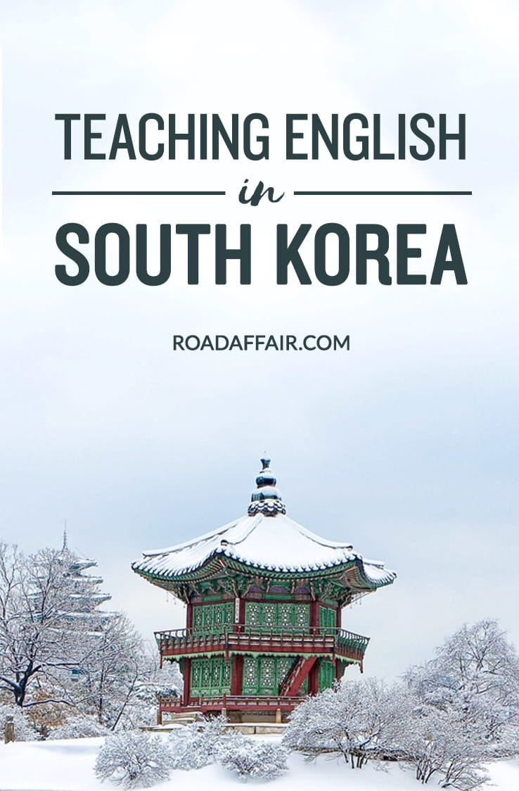 Teaching English in Korea Pinterest Pin