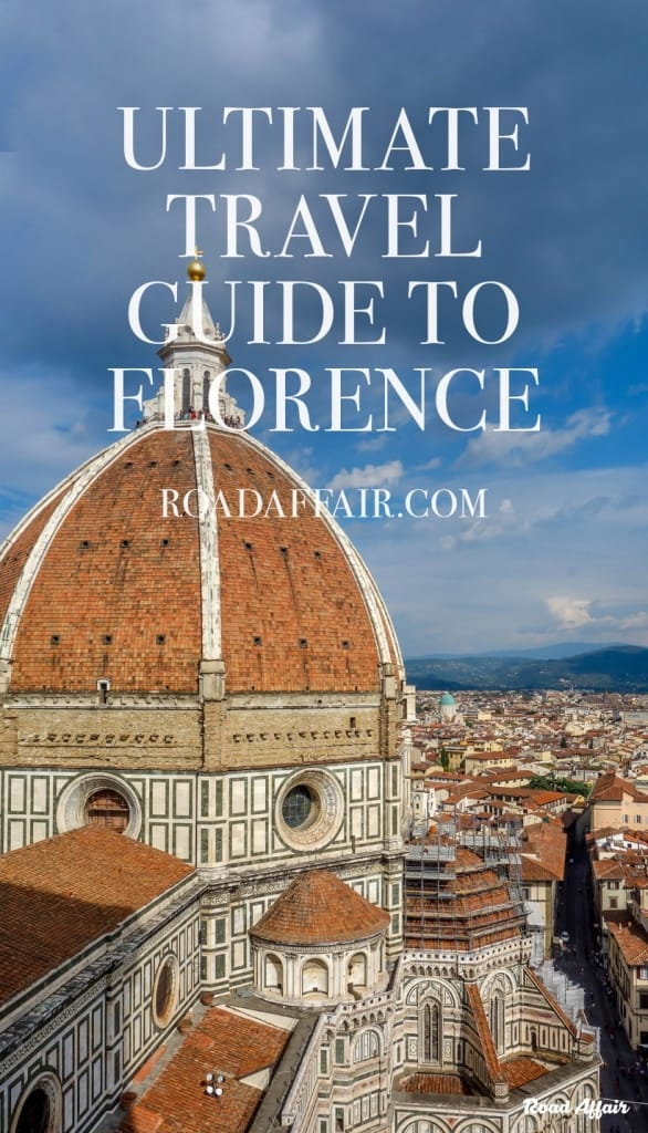 The Ultimate Guide to Backpacking Florence on a Budget Pin