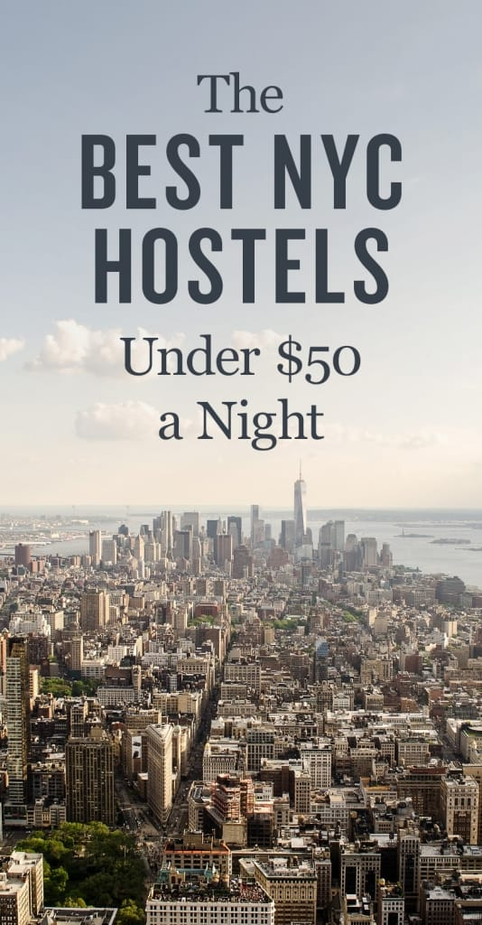 Best Hostels in New York City Pinterest Pin