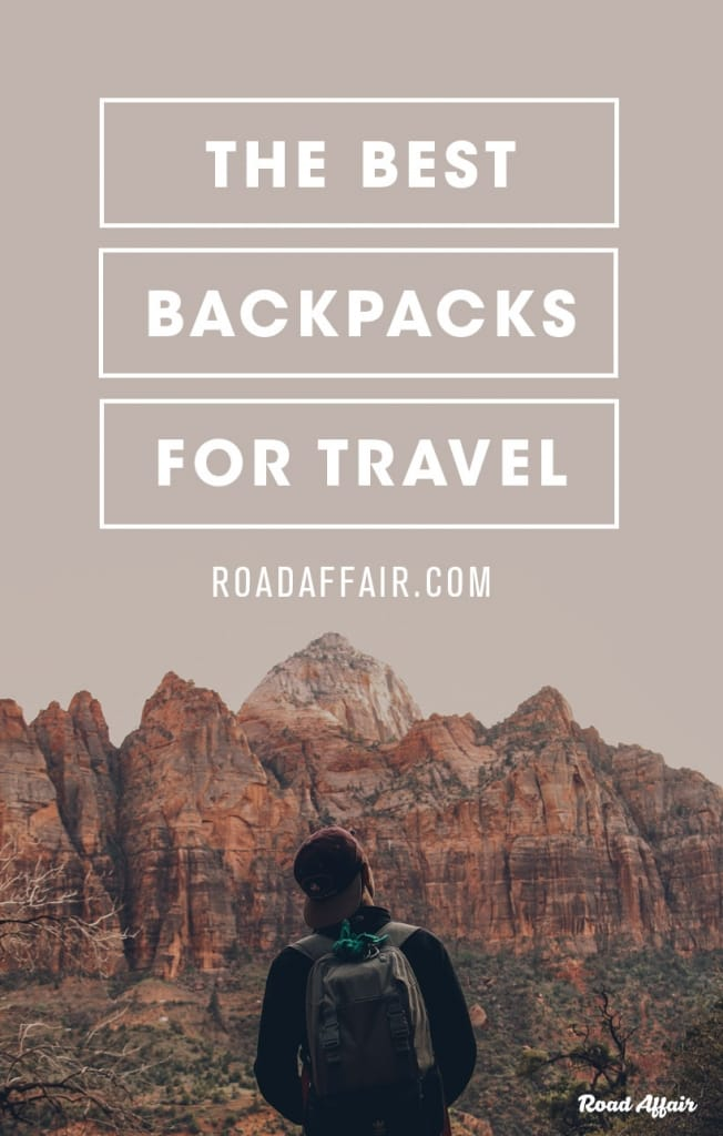 Best Travel Backpack Pinterest Pin