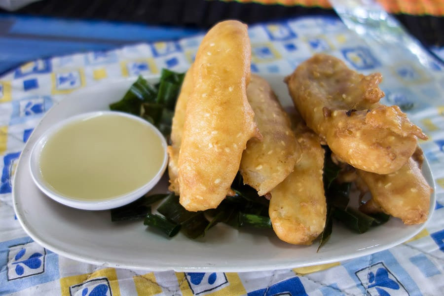 Mama Noi Thai Cookery School: Fried Bananas (Kluay Tod)