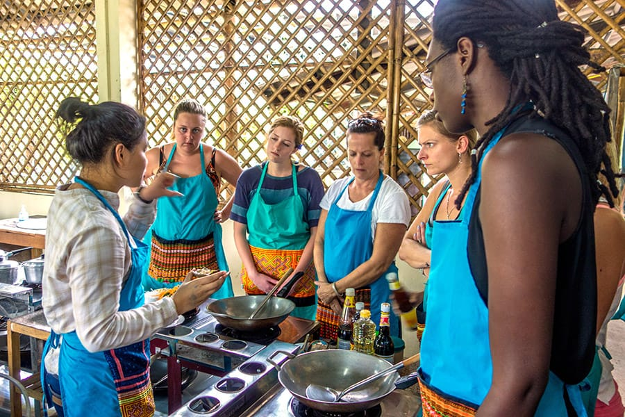 Mama Noi Thai Cookery School: Lesson in Cooking Thai Food