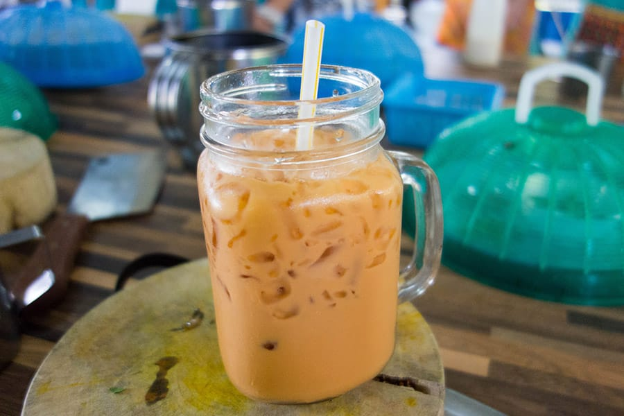 Mama Noi Thai Cookery School: Thai Tea (Cha-Yen)