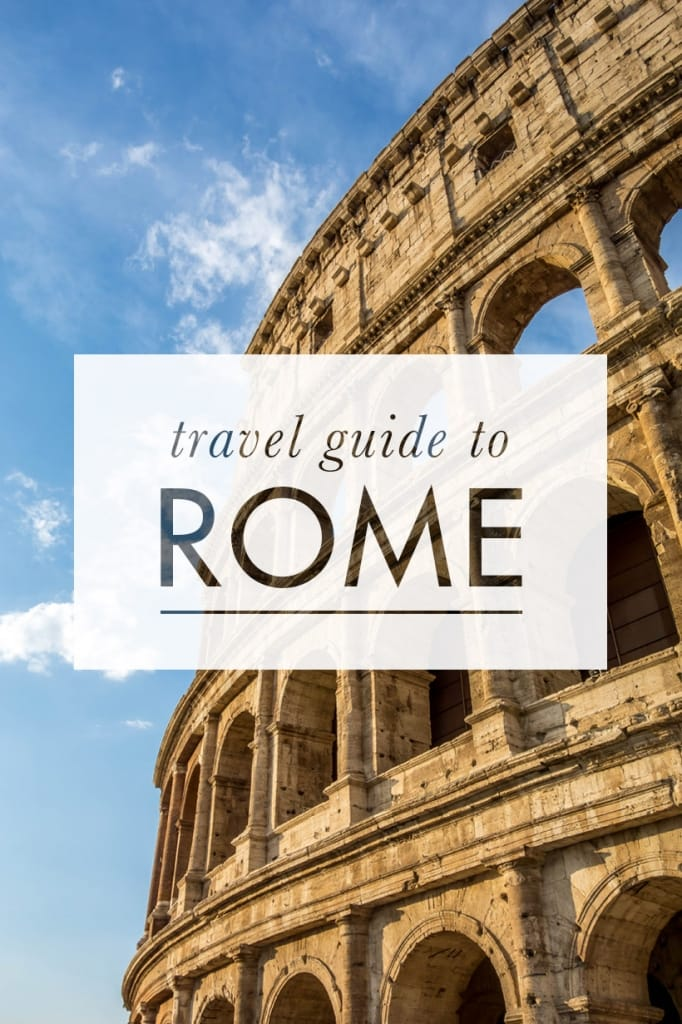 Backpacking Rome on a Budget Pinterest Pin