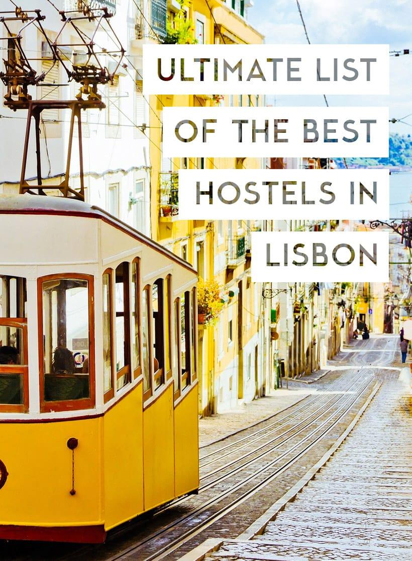 Best Hostels in Lisbon, Portugal