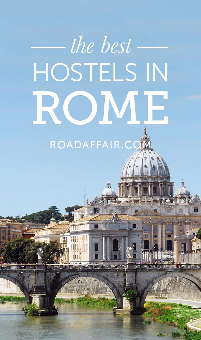 Traveling to Rome? Here are the ten best hostels in Rome.