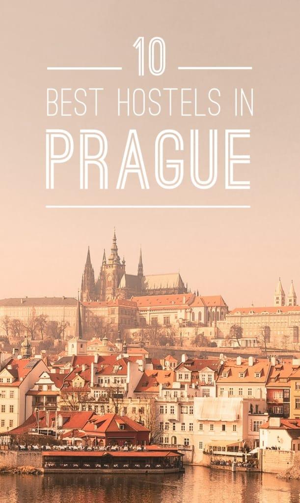Best Hostels in Prague Pinterest Pin