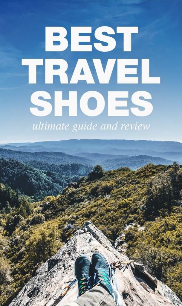 Best Travel Shoes Pinterest Pin