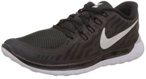 Nike Free 5.0 are the best travel shoes