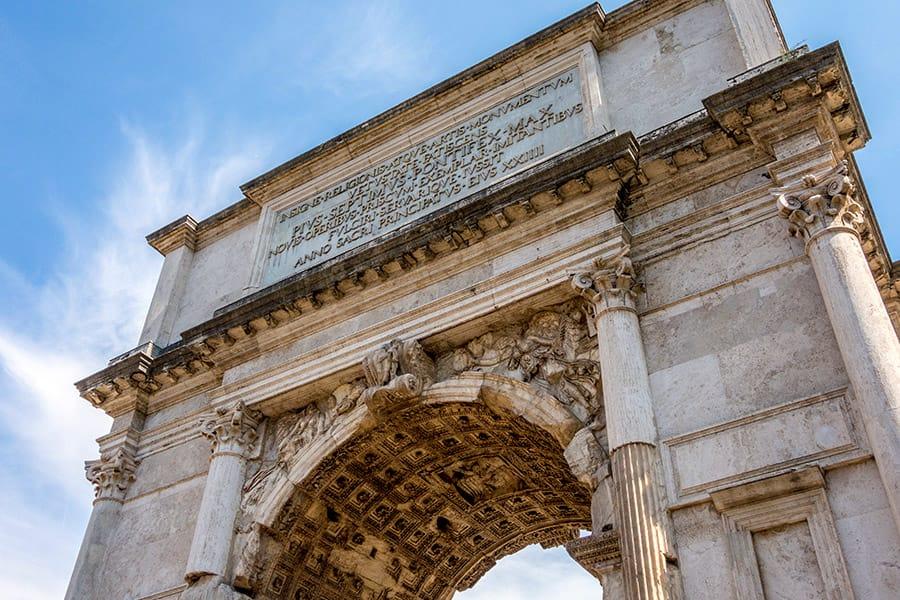 Roman Triumph in Rome Italy