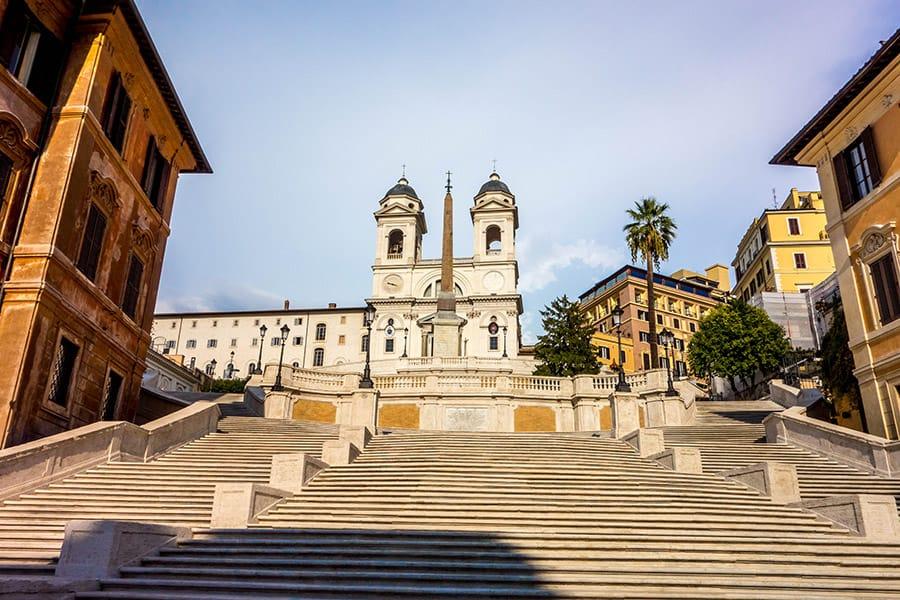 Spanish Steps in Rome Italy