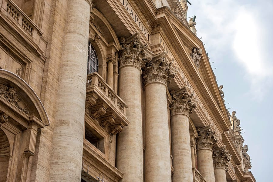 St. Peters Basilica in Rome Italy
