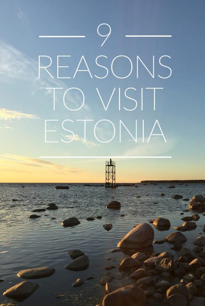 Visit Estonia Pinterest Pin