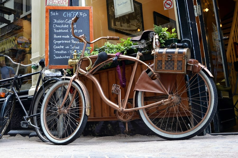 Renting bike in Europe