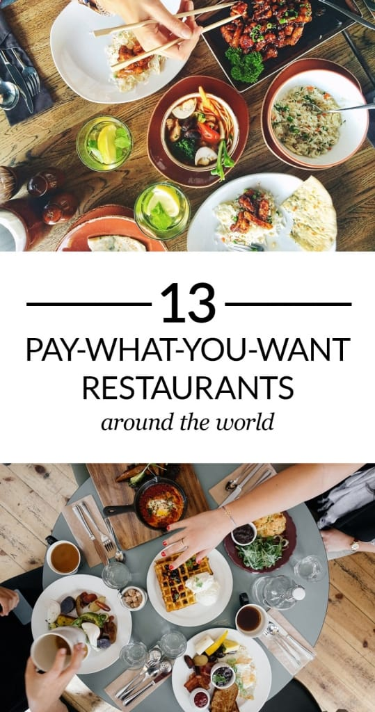 Pay-What-You-Want Restaurants Pinterest Pin