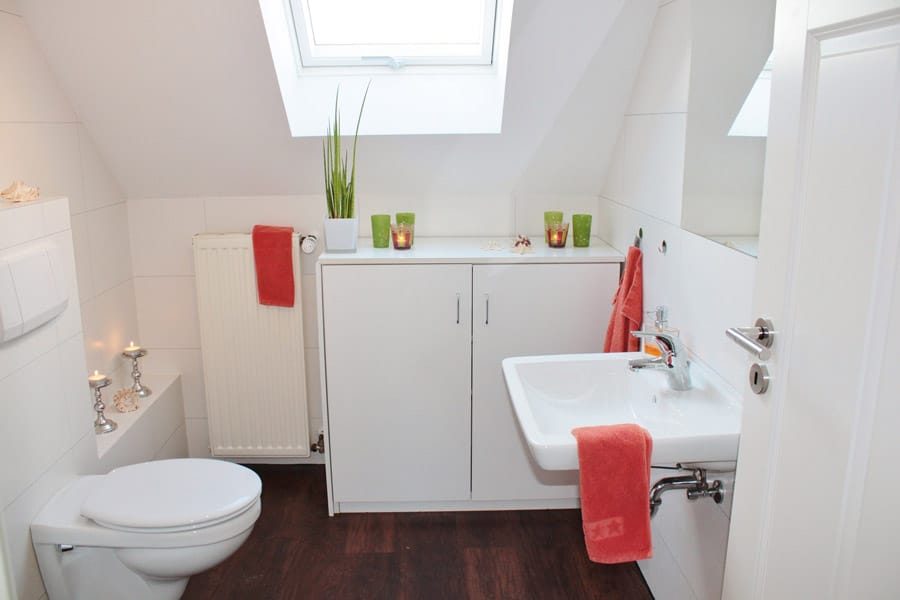 Bathroom at Airbnb