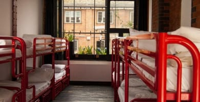Best Hostels in London Featured Image