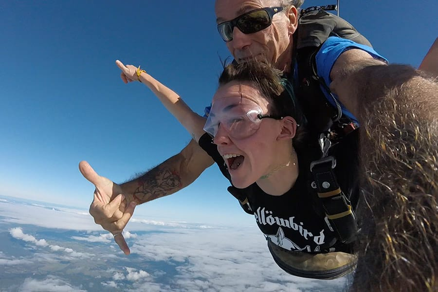 Skydiving in Australia