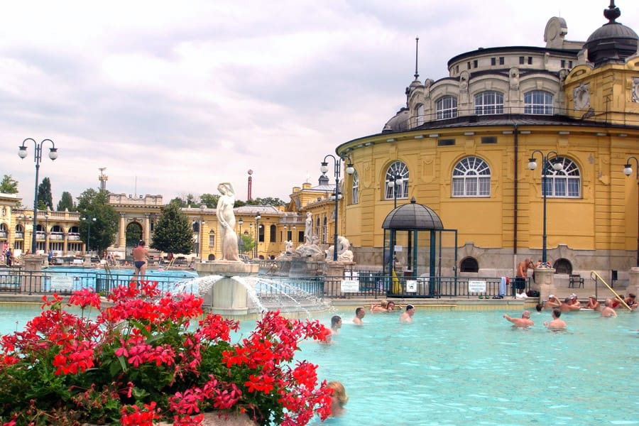 Szechenyi, a thermal bath in Budapest